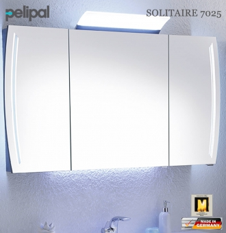 pelipal solitaire 7025 led spiegelschrank 130 cm 7025 sps 10 impuls home. Black Bedroom Furniture Sets. Home Design Ideas