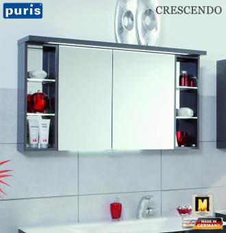 Puris Crescendo LED-Spiegelschrank 120 cm - S2A431226L