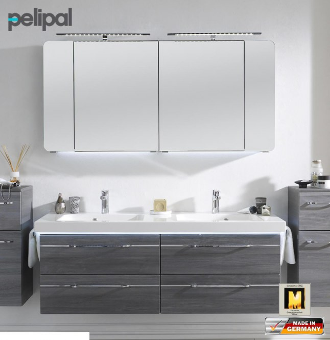 pelipal balto badm bel set mit 1482 mm waschtisch v3 2. Black Bedroom Furniture Sets. Home Design Ideas
