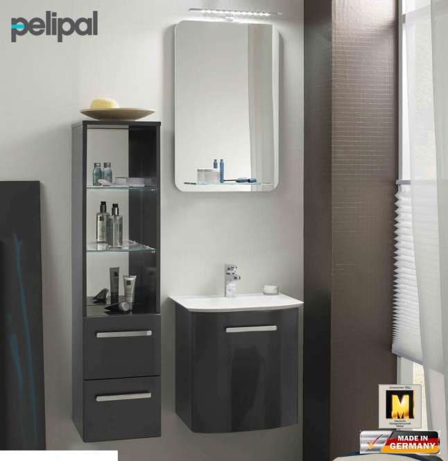 pelipal solitaire 6900 badm bel set mit 490 mm waschtisch. Black Bedroom Furniture Sets. Home Design Ideas