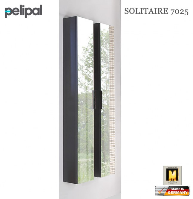 pelipal solitaire 7025 hochschrank 168 cm mit spiegelt r. Black Bedroom Furniture Sets. Home Design Ideas