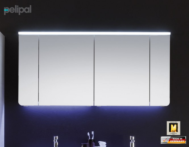 pelipal tiva led spiegelschrank 150 cm breite ti sps 09. Black Bedroom Furniture Sets. Home Design Ideas