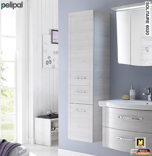 pelipal solitaire 6020 hochschrank in fugenoptik 1 w schekippe 1 t r 1 auszug 6020 hsw 45. Black Bedroom Furniture Sets. Home Design Ideas