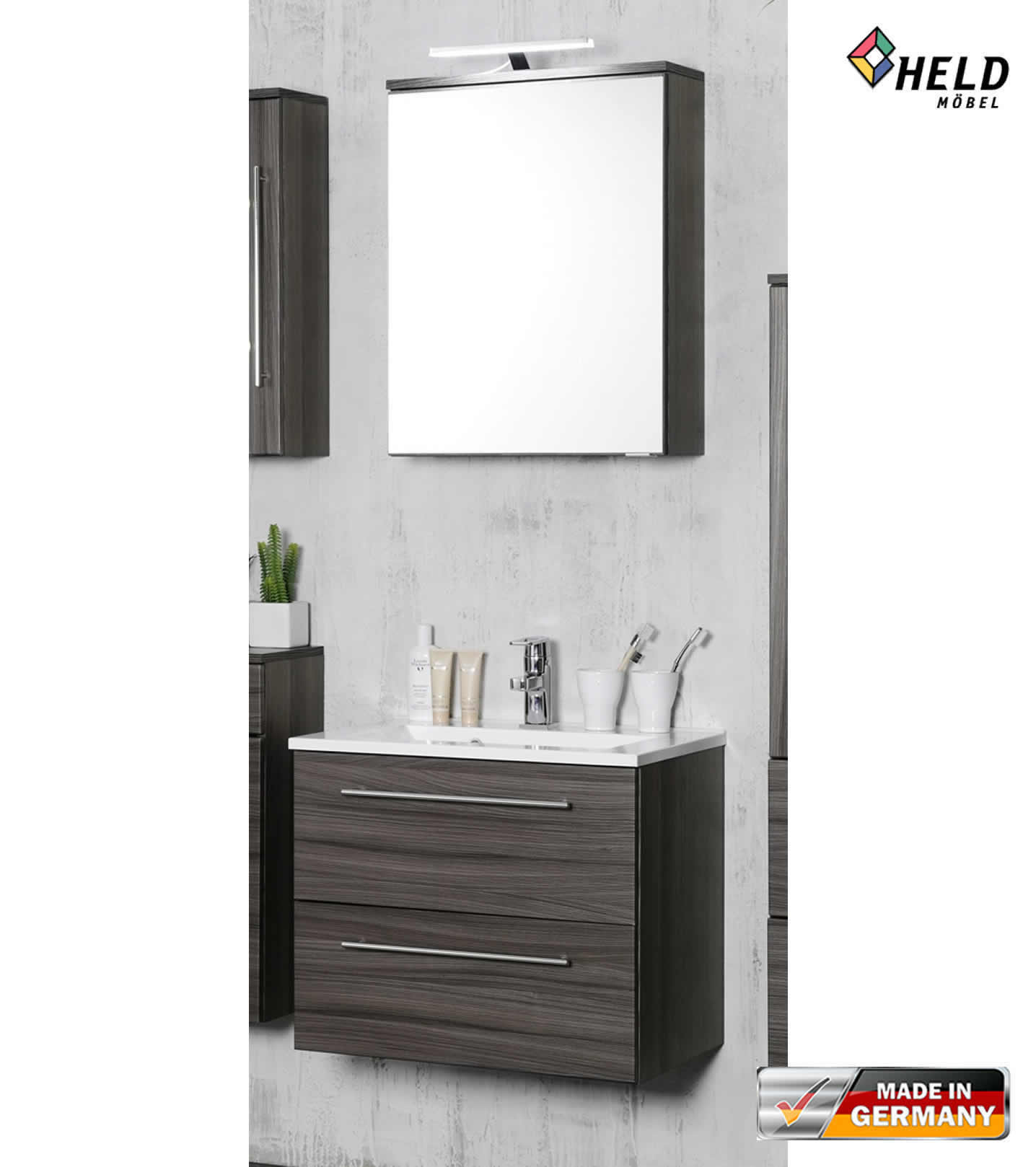 held mailand badm bel set 3 tlg 60 cm farbe w hlbar. Black Bedroom Furniture Sets. Home Design Ideas
