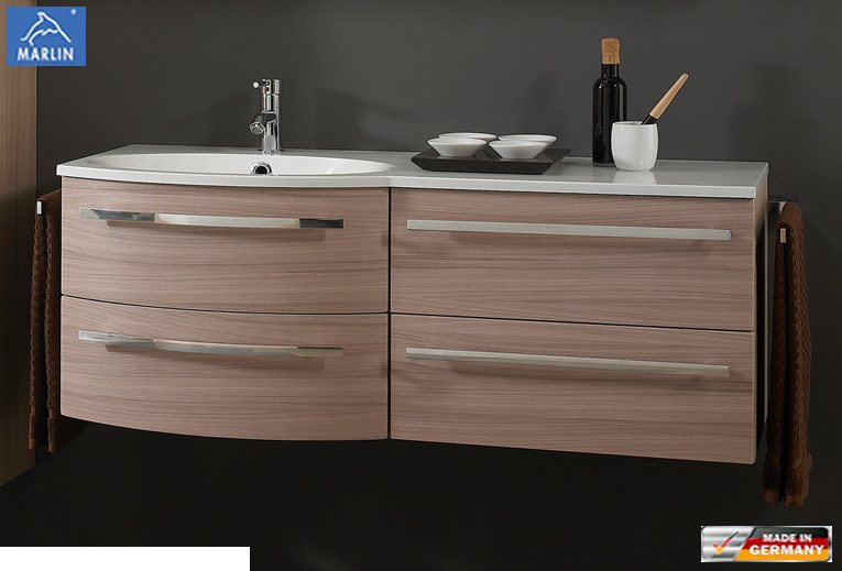 marlin cosmo waschtisch set 120 cm rechts version. Black Bedroom Furniture Sets. Home Design Ideas