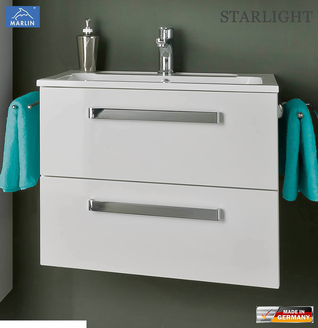 marlin starlight waschtischunterschrank set 60 cm impuls home. Black Bedroom Furniture Sets. Home Design Ideas