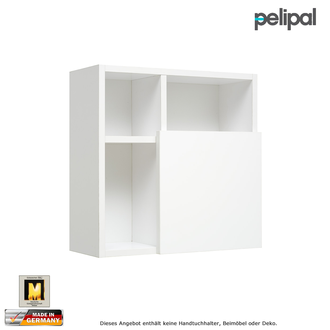 pelipal universale m bel wandregal 45 cm t r unten impuls home. Black Bedroom Furniture Sets. Home Design Ideas
