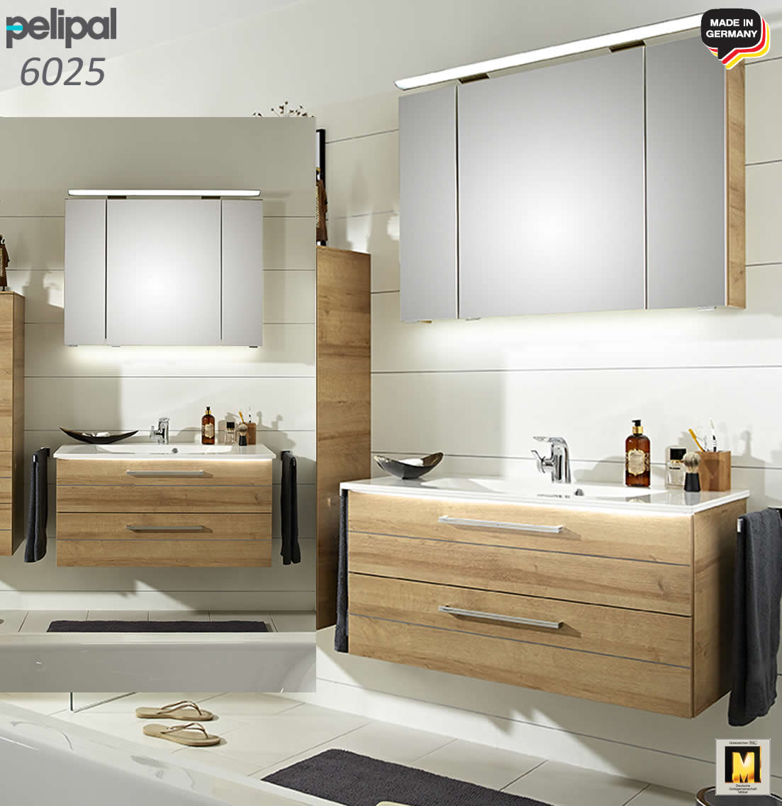 pelipal solitaire 6025 badm bel set 97 cm v2 2 impuls home. Black Bedroom Furniture Sets. Home Design Ideas