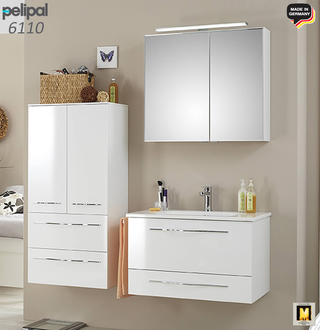 pelipal solitaire 6110 badm bel set 81 cm v2 2 impuls home. Black Bedroom Furniture Sets. Home Design Ideas