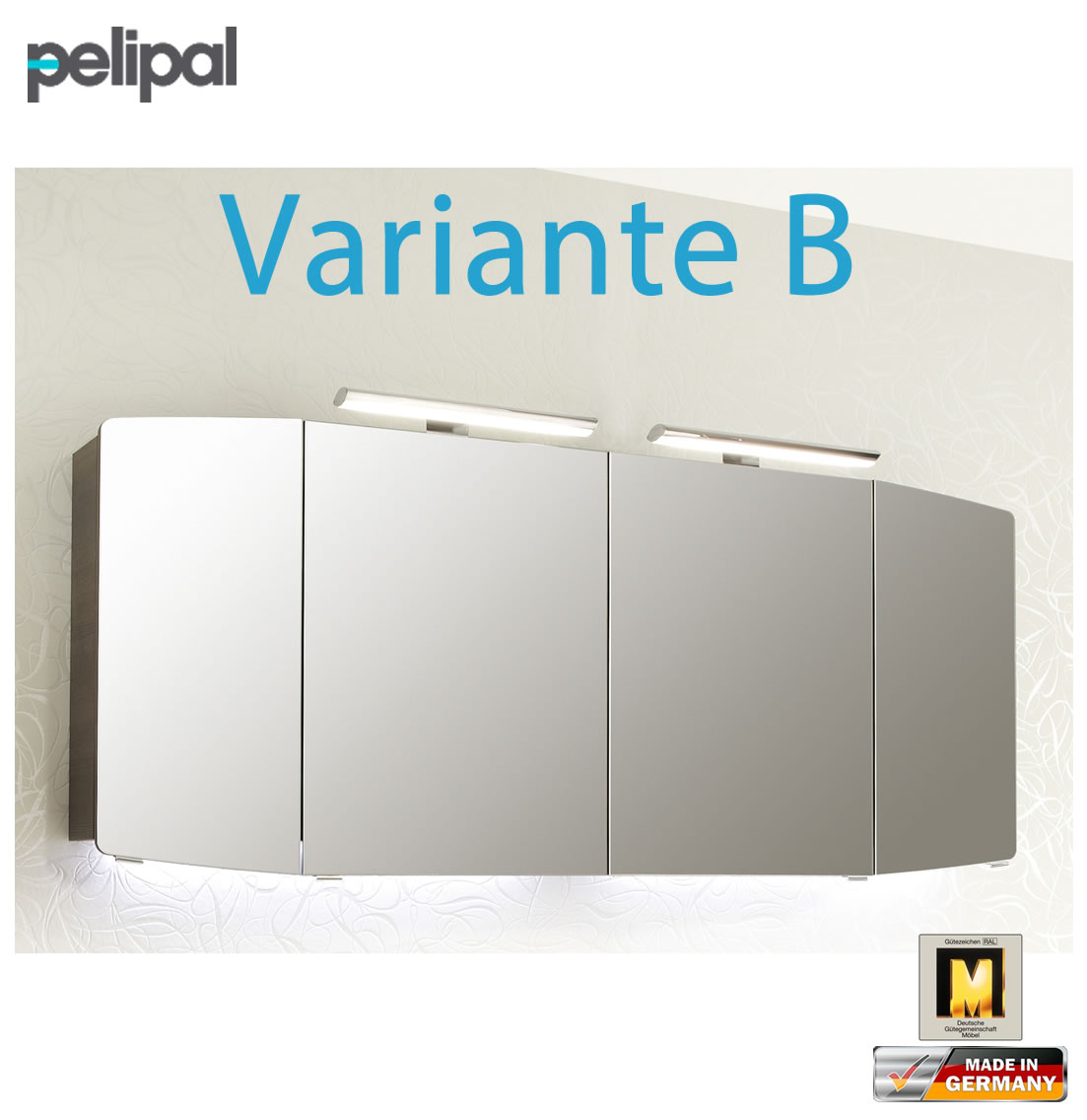 pelipal cassca spiegelschrank 160 cm cs sps 22 variante b impuls home. Black Bedroom Furniture Sets. Home Design Ideas