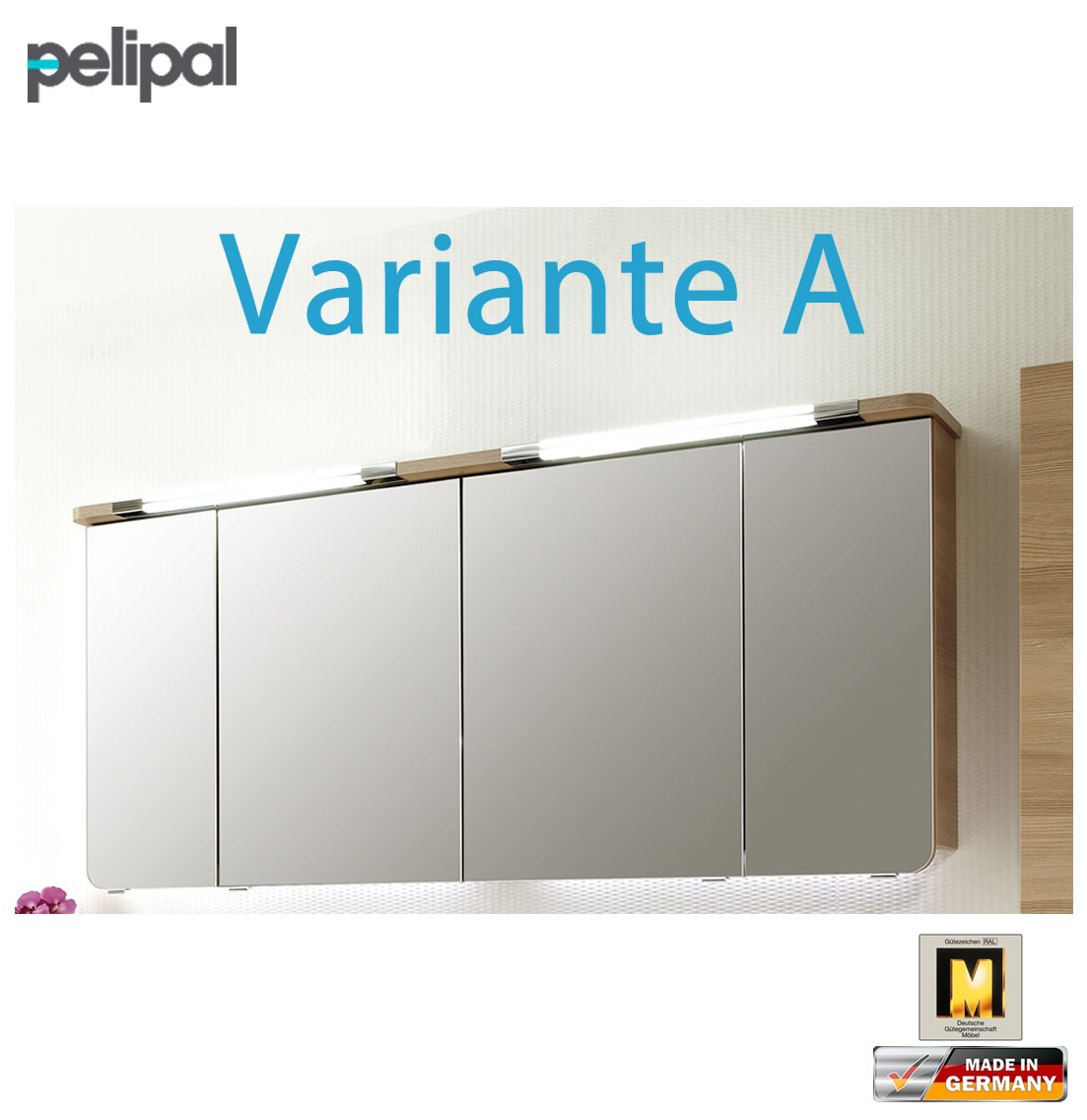 pelipal cassca spiegelschrank 162 cm cs sps 21 variante a impuls home. Black Bedroom Furniture Sets. Home Design Ideas