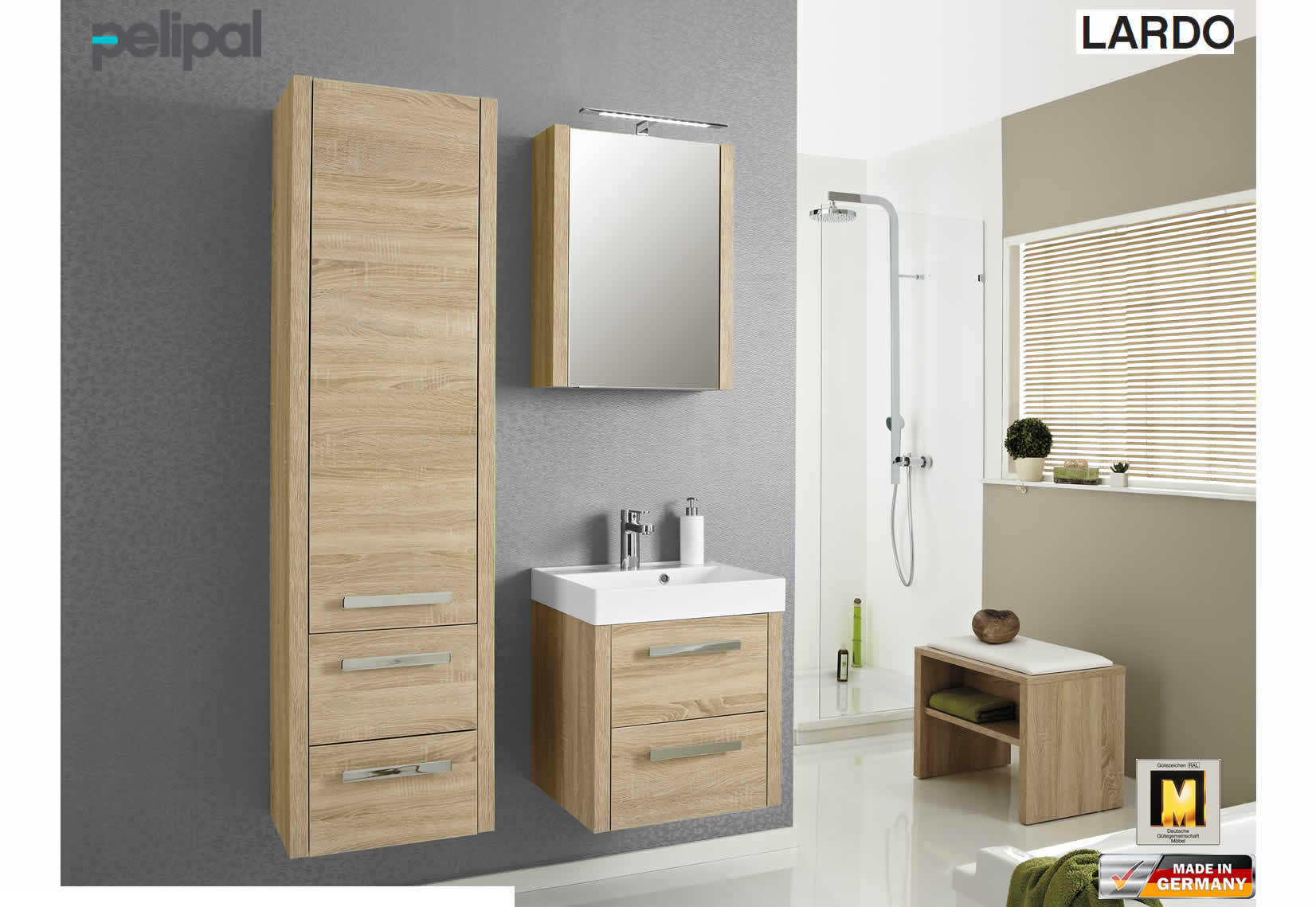 pelipal lardo badm bel set 50 cm impuls home. Black Bedroom Furniture Sets. Home Design Ideas