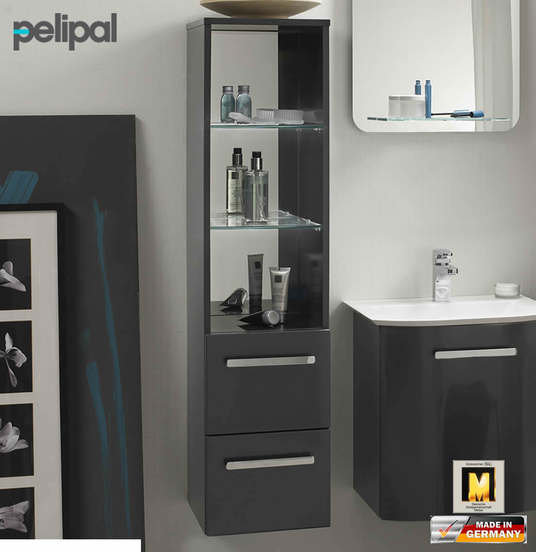 pelipal solitaire 6900 midischrank 122 cm nt m 19. Black Bedroom Furniture Sets. Home Design Ideas