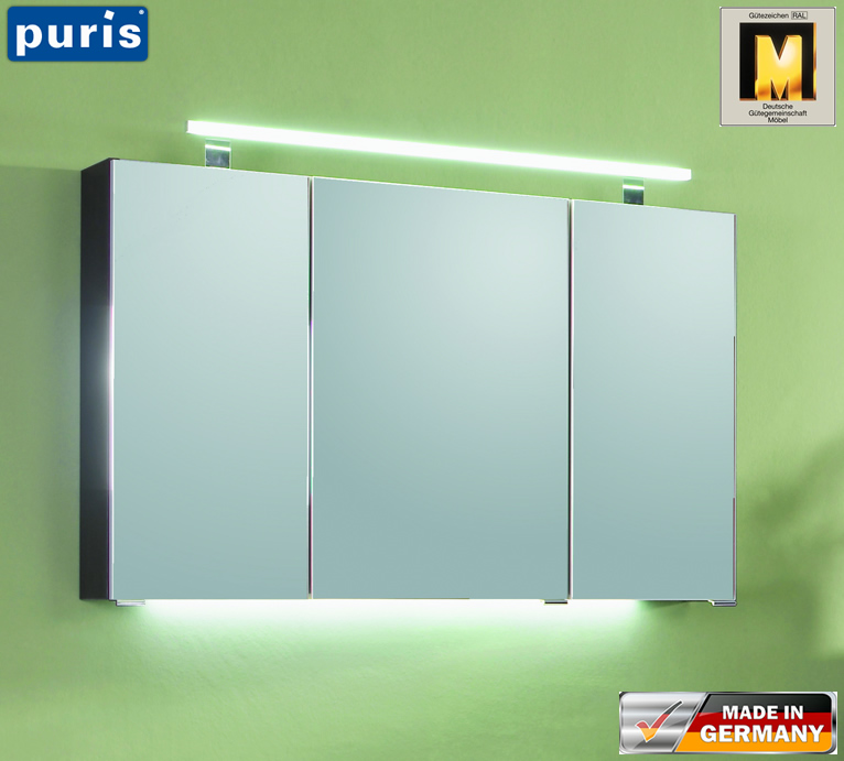 Puris Fresh Spiegelschrank 120 Cm | Impuls Home