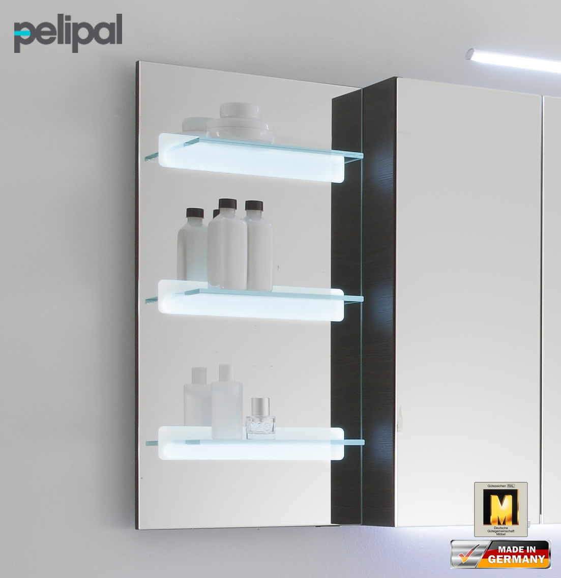 pelipal solitaire 7005 ablagepaneel 70 cm mit led rd. Black Bedroom Furniture Sets. Home Design Ideas
