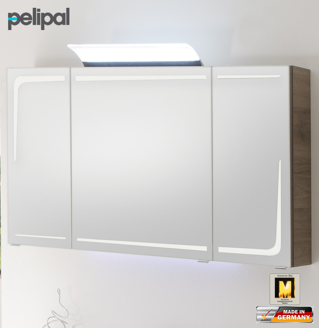 pelipal solitaire 7005 spiegelschrank 120 cm rd sps 05 impuls home. Black Bedroom Furniture Sets. Home Design Ideas
